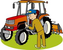 農業機械は作業前に必ず点検